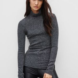 Wilfred Free Buswell Ribbed Sweater Size XXS EUC